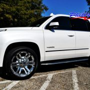 Beautiful White GMC Yukon